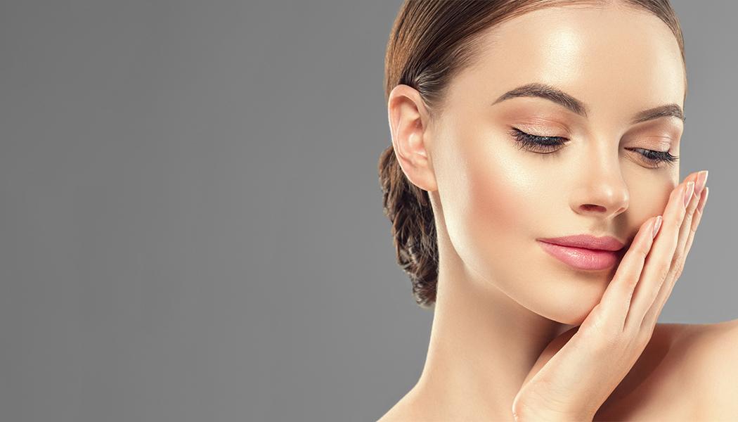 Healthy Skin Beauty Model